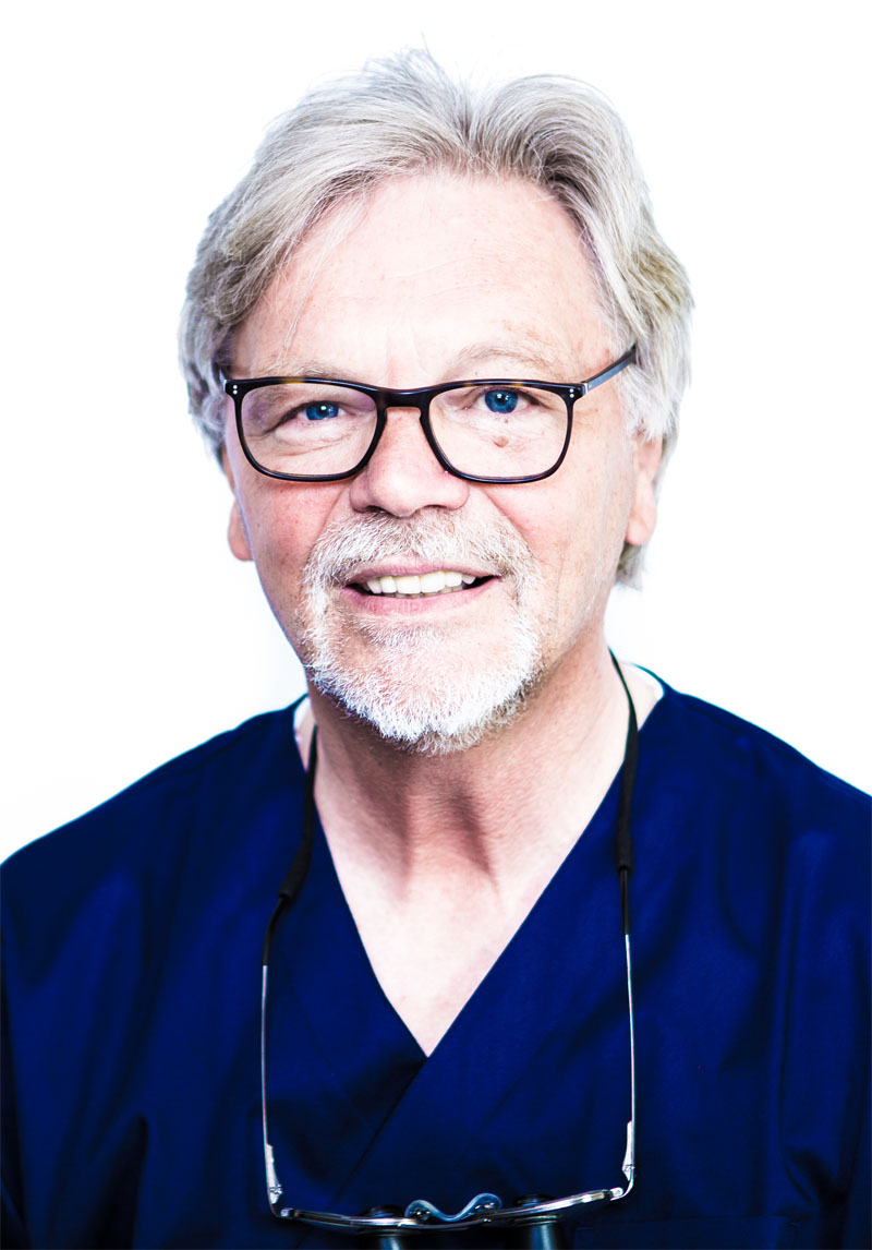 Dr. Klaus-Peter Clausen, MSc MSc, Zahnarzt Lübeck