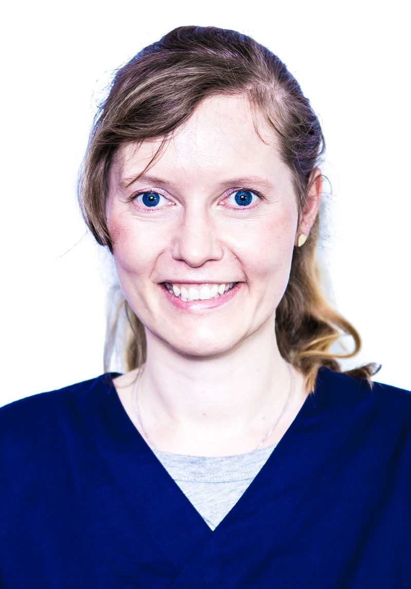 Franciska Bartels, dentist
