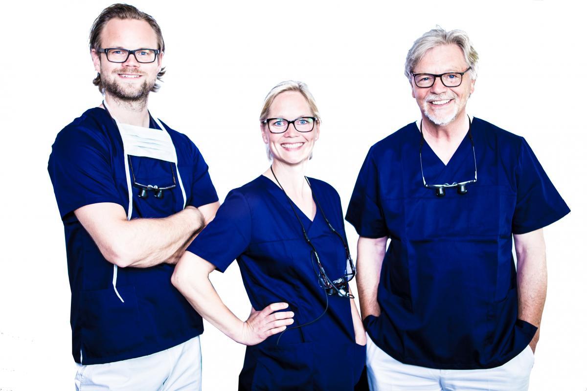 Bei Zahnschmerzen genau die richtigen Ansprechpartner: Dr. Clausen und Partner in Lübeck